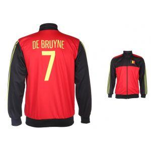 Belgie Trainingsjack De Bruyne Thuis
