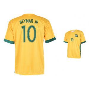 Brazilië Voetbalshirt Neymar Thuis